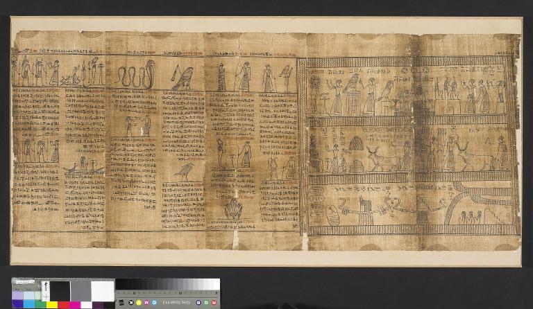 Book of the Dead inscribed for Djedhor card