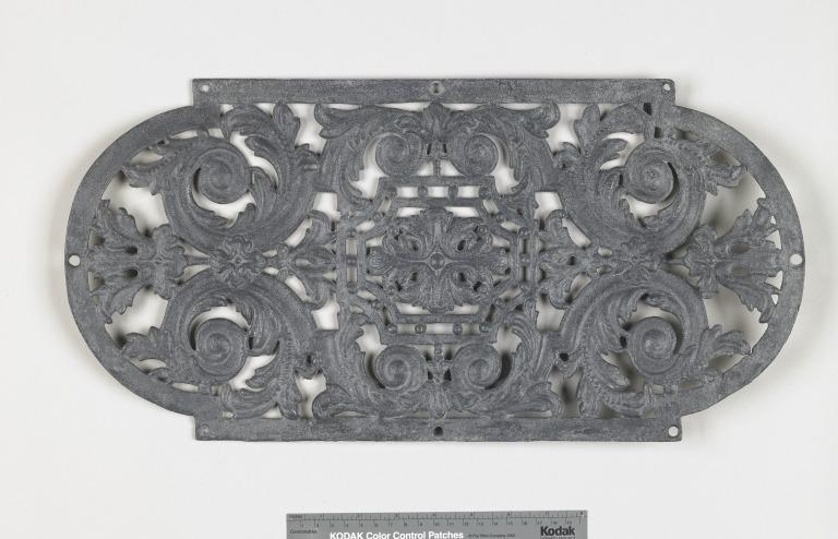 Ventilation grille from Titanic card
