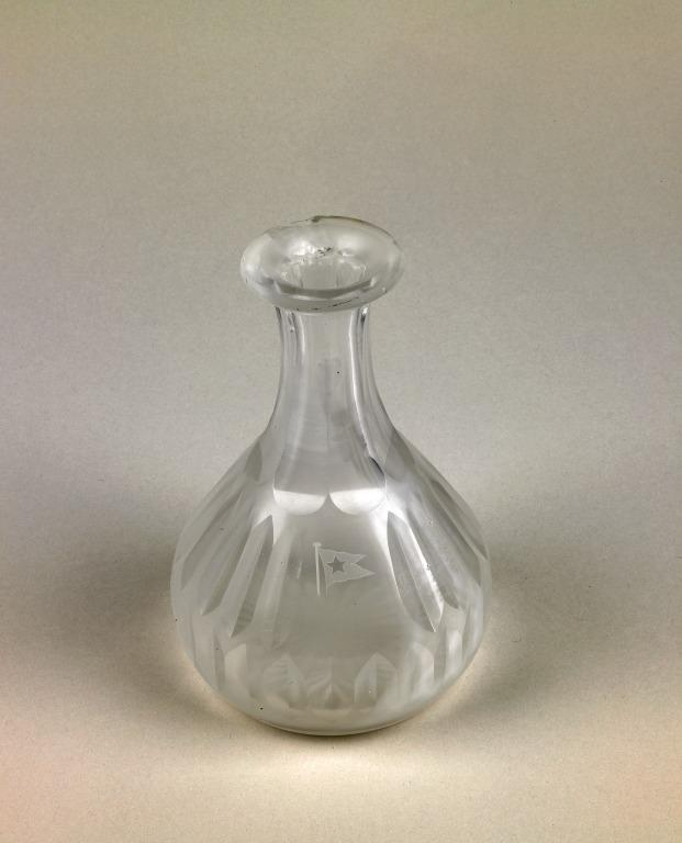 Cut glass carafe - from Titanic card