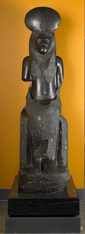 Sekhmet Statue card