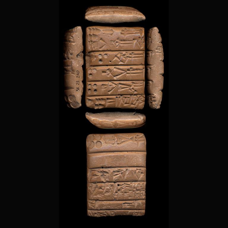 Cuneiform Tablet card