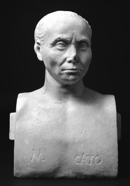 Bust of an Old Man card