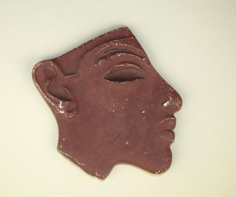 Profile of Akhenaten (facsimile) card