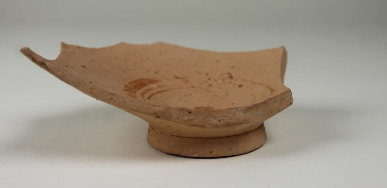 Base and body from a shallow bowl card