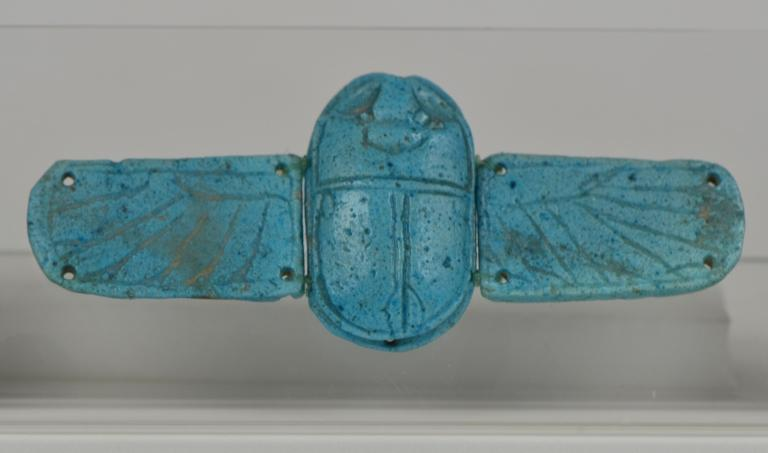 Funerary Scarab with Wings card