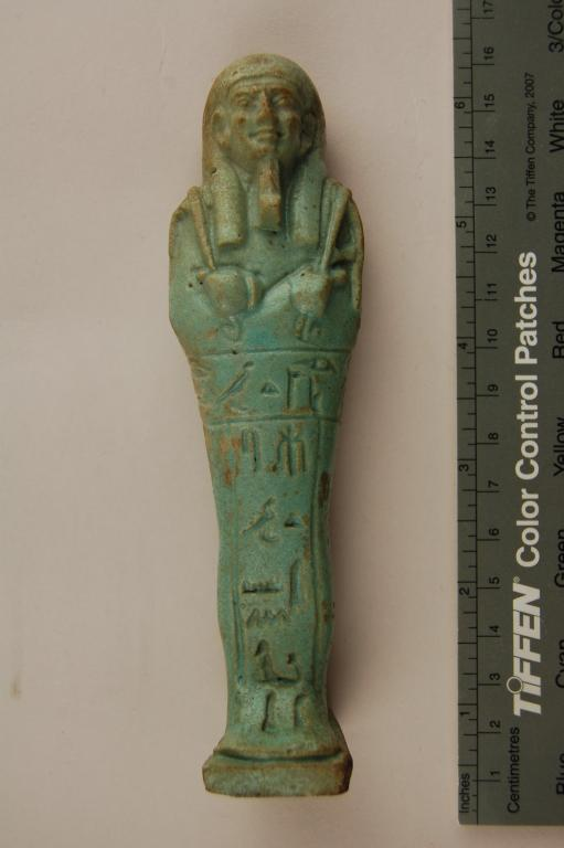 Shabti of Ta–rudjet card