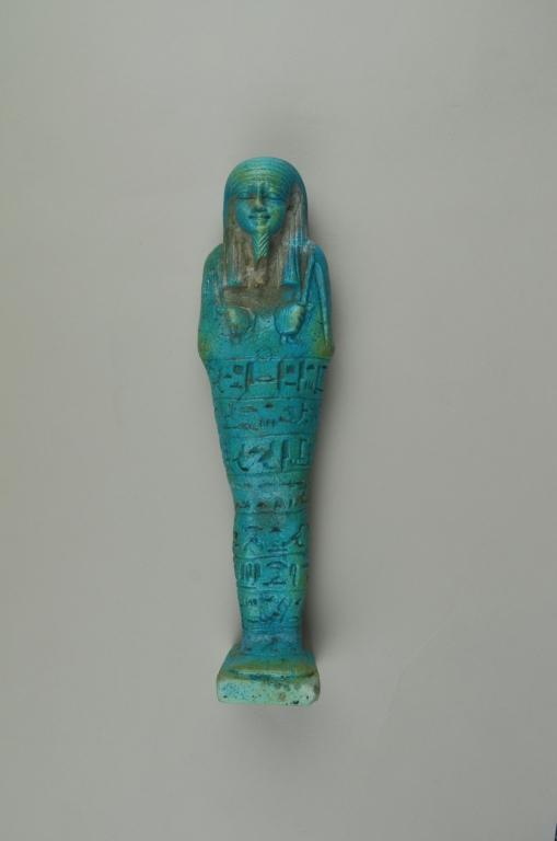 Shabti of Psamtek son of Sebarekhyt card