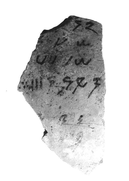 Meroitic Ostracon card
