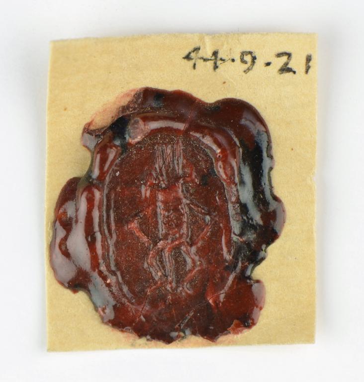 Wax Seal Impression card