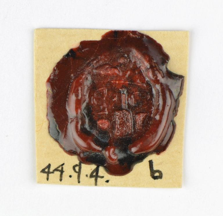Wax Seal Impression card