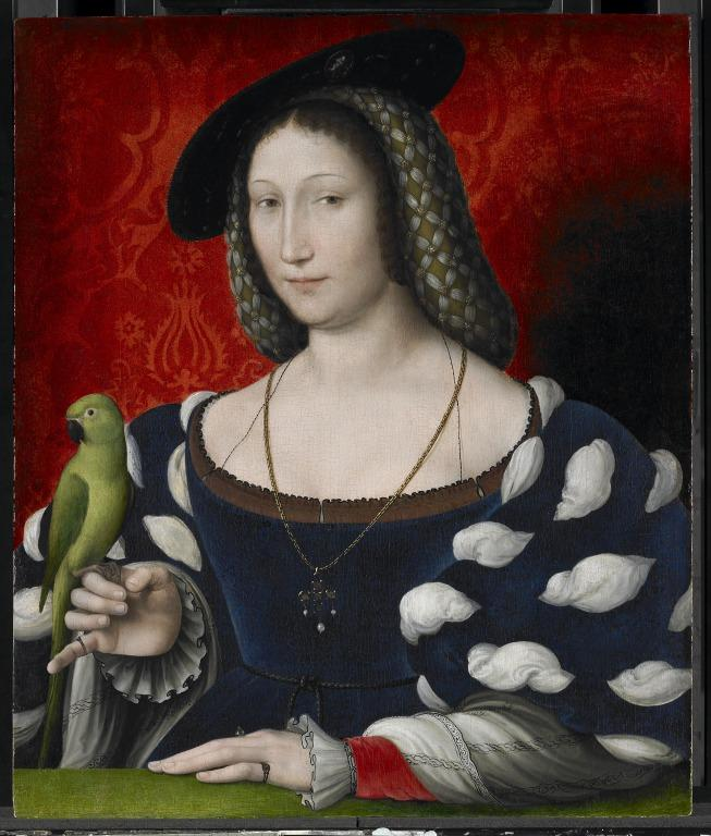 Portrait of Marguerite of Navarre card