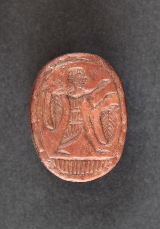 Scaraboid Seal card