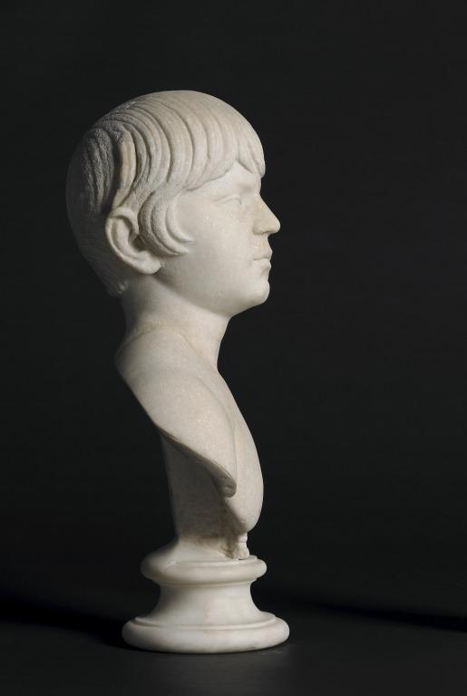 Bust of a Young Boy card