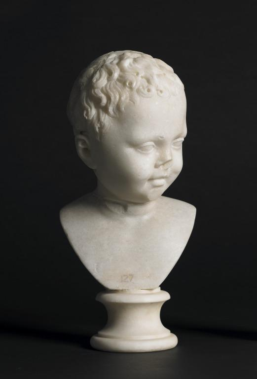 Head of a boy card