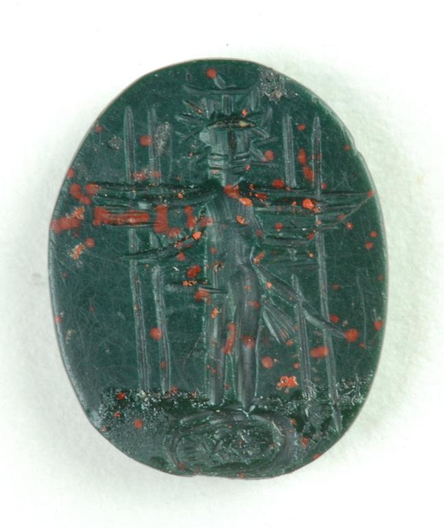 Amulet of the type known as magical gem card