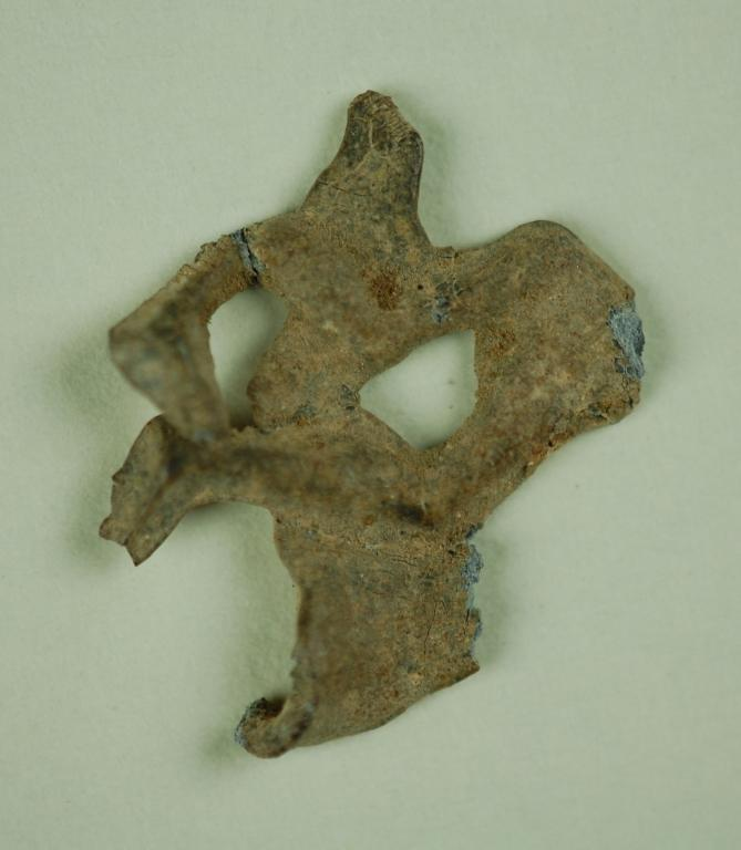 Fragment from a votive offering card