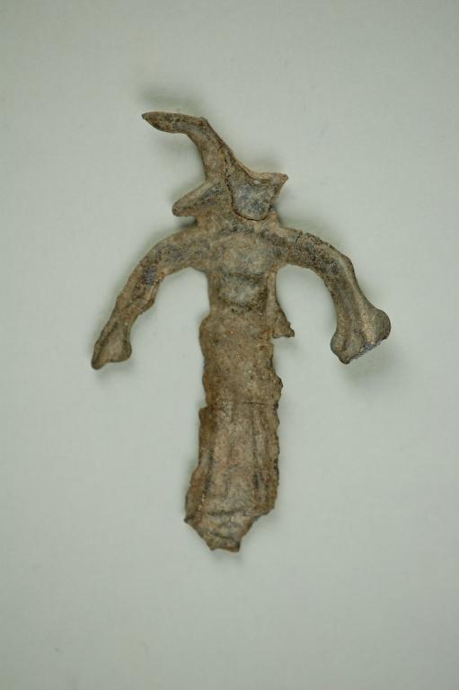 Female figurine votive offering card