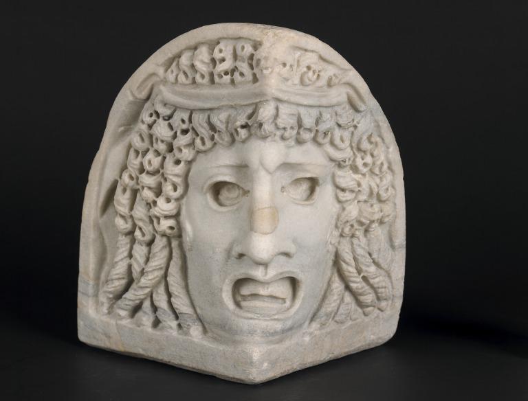 Sarcophagus Corner Fragment card