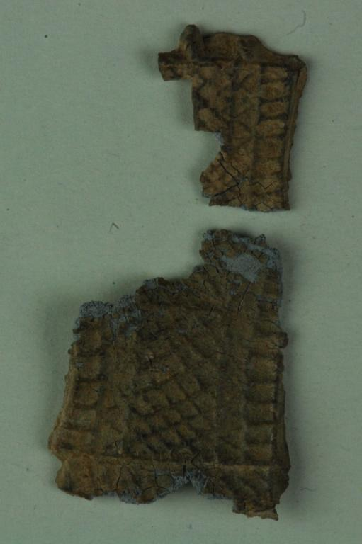 Fragments from a votive offering card
