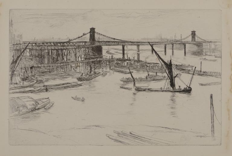 Old Hungerford Bridge card