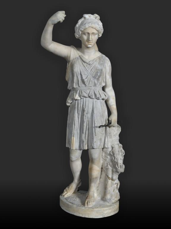 Statuette of Artemis card