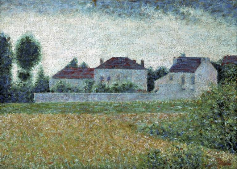 Ville D' Avray, White Houses card