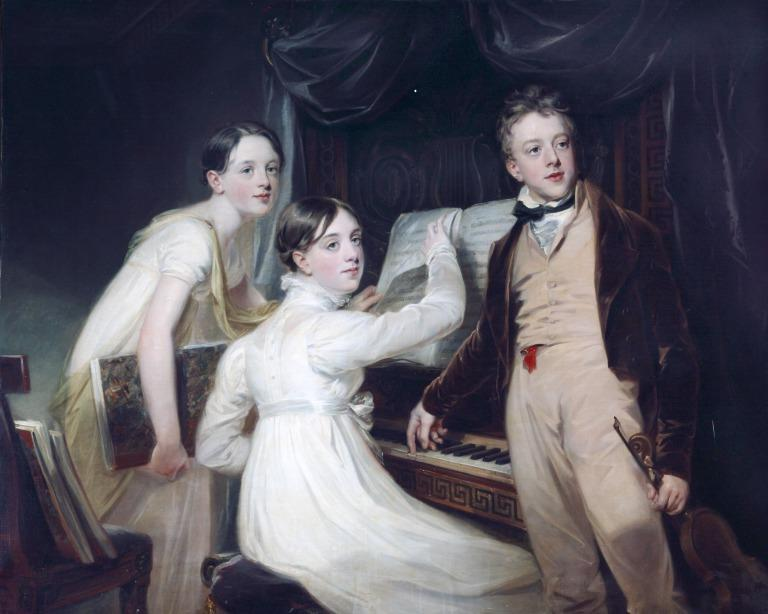 Thomas, Eleanor and Anne Lance card