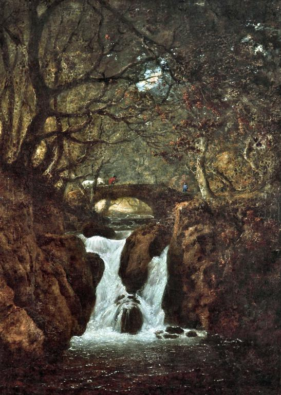 Lower Rydal Waterfall card