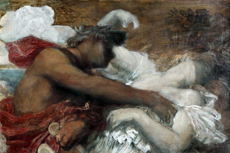 Orpheus and Eurydice card