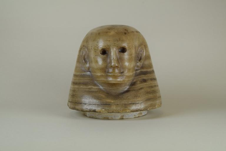Canopic Jar Lid (Human-headed) card