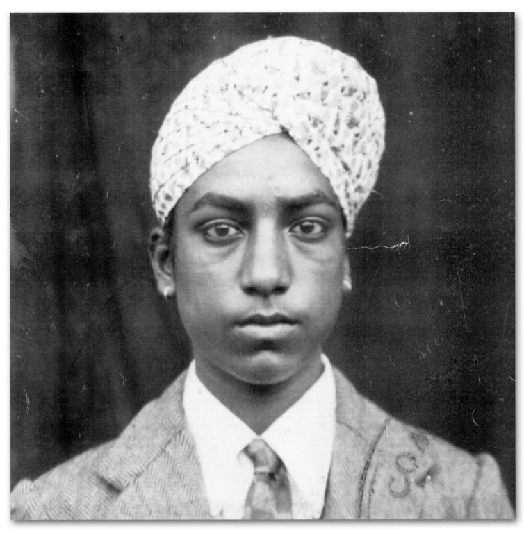 Makhan Singh's Pedlar's Certificate No 1591 card